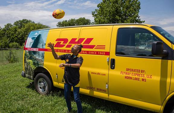 Young Athlete Wins DHL Contest to Deliver Match Ball at Rugby World Cup 2019